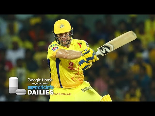 Watson powers Chennai back to winning ways | Daily Cricket News