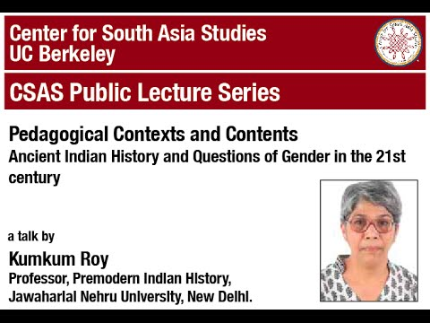 Pedagogical Contexts and Contents: Ancient Indian History and Questions of Gender
