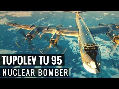 Russian Nuclear Bomber - Tupolev TU 95