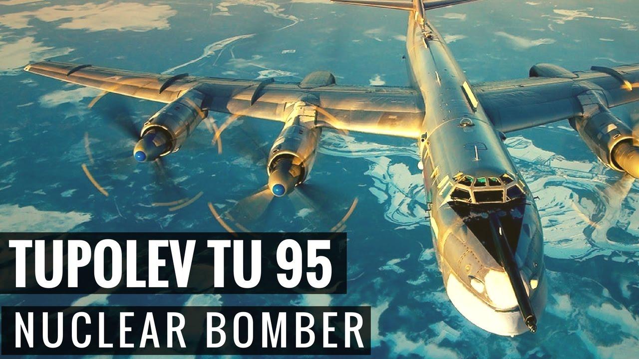 Bombardeiro estratégico Tupolev TU 95