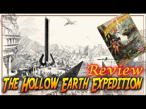 The Hollow Earth Expedition Adventure - RPG Review