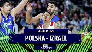 El. Eurobasketu 2021: świetna gra Slaughtera nie wystarczyła. Polska przegrała z Izraelem | SKRÓT