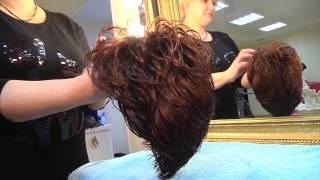 видео Как ухаживать за париком из искусственных волос