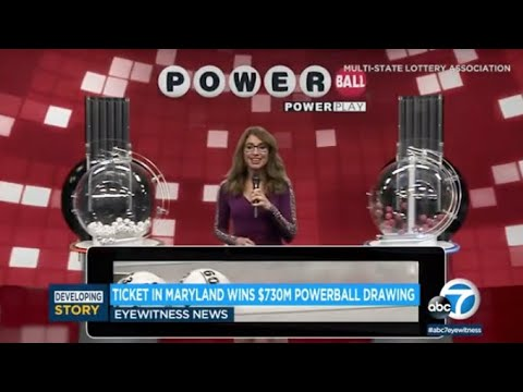 Powerball Results: $731M lottery jackpot won in Maryland after ...