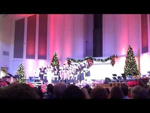 Jessica St Aubyn with Kingwood Middle School Choir - Texas