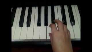 Ламбада на пианино