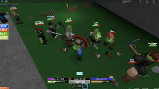 Orc Madness!!! - I Had To Shower - The Flying Swordmen - Roblox FIB! -