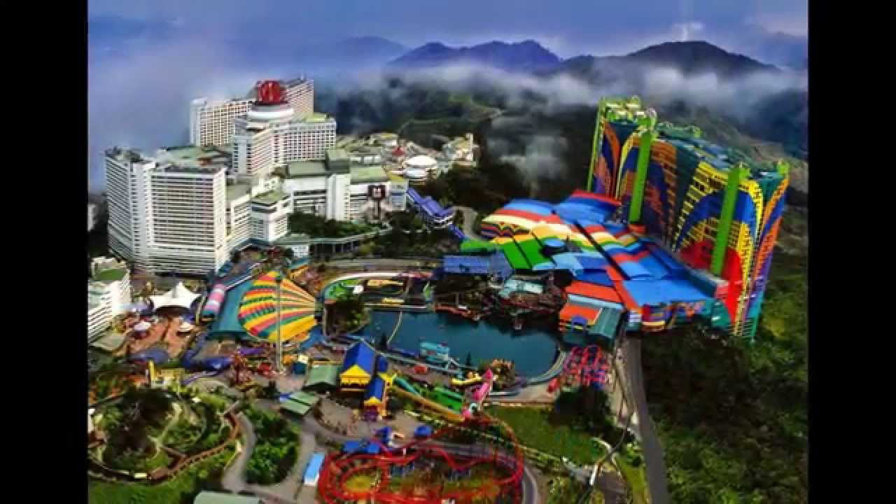 Genting Highlands Tourist Attraction In Malaysia Youtube