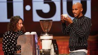 Doppelter Espresso in 1:30