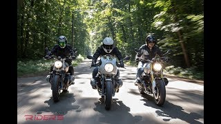 BMW R nineT vs. Scrambler vs. Racer Review