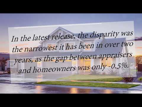 Cabin Branch Clarksburg MD | Gap Between Homeowners & Appraisers Narrows to Lowest Mark in 2 Years