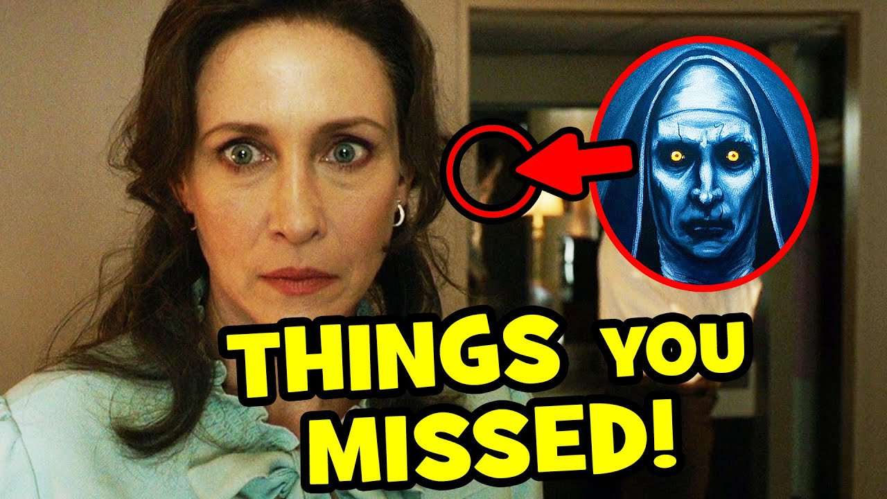 The CONJURING 3 Easter Eggs, The Nun & Annabelle Connections Explained!