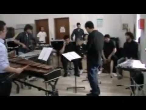 El Amante - Concerto finale di percussioni (conservatorio N. Piccinni-Bari) con Sergio Izquierdo