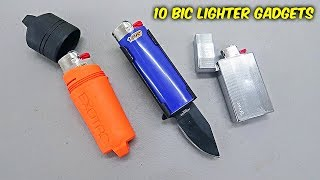 10 Bic Lighter Gadgets You Didn't Know Existed