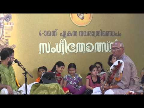 NEDUMANGAD SHIVANANDAN With Kavalam Sreekumar