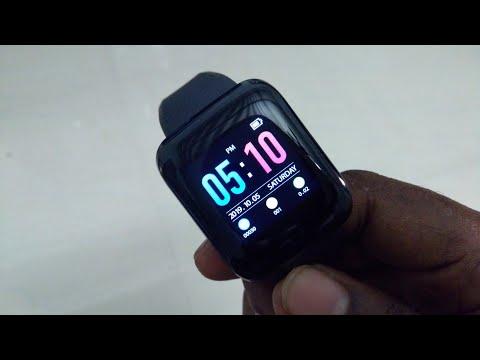 D13 Smart Bracelet & Fitness Track unboxing & review