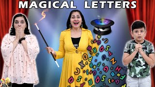MAGICAL LETTERS | Solve Puzzle And Win Surprise Gifts | Aayu and Pihu Show