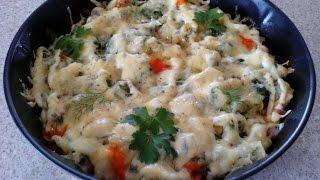 Вкусная картофельная запеканка с колбасой. Домашняя картофельная запеканка, простой рецепт
