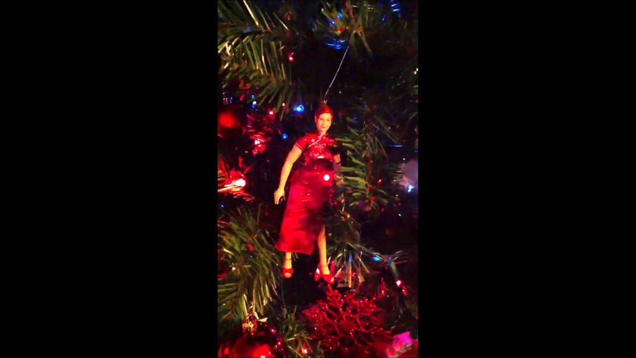 Spiderman Christmas tree - YouTube