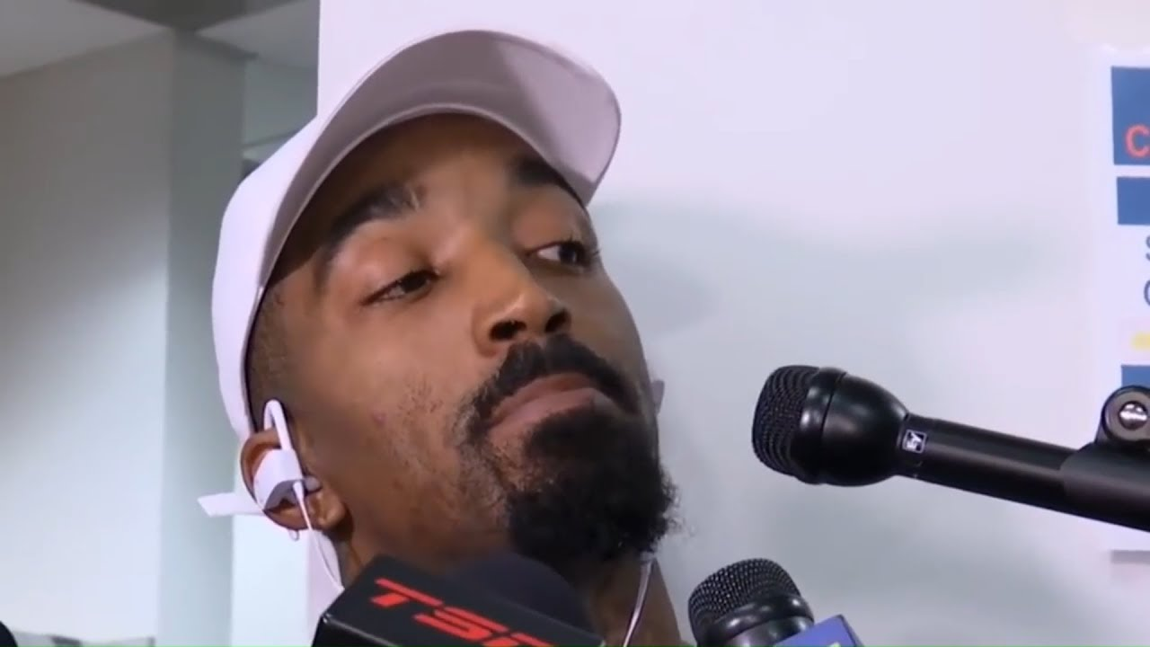 62c2eff83dd3 JR Smith REACTS To Getting