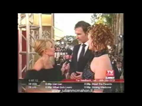 Julian McMahon Red Carpet Interview by Joan Rivers/TV Guide @Golden Globes