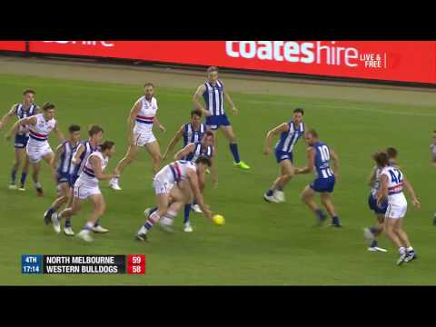 Round 4 AFL - North Melbourne v Western Bulldogs Highlights