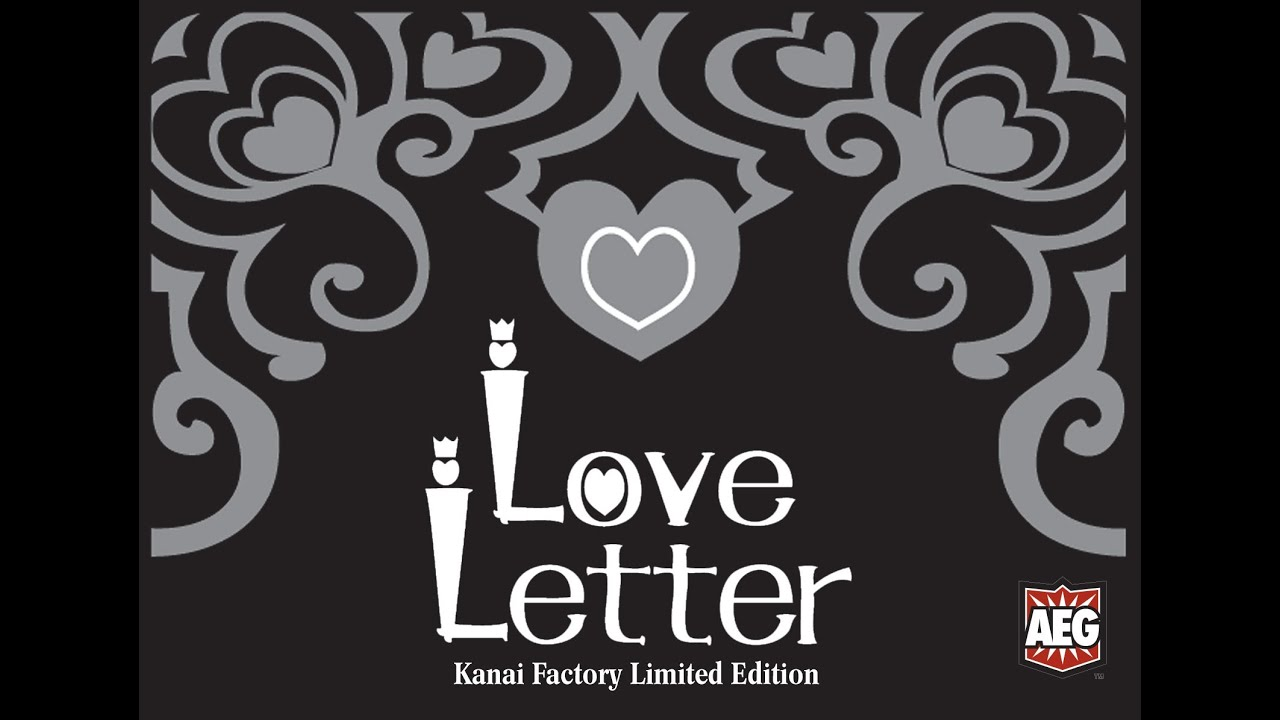 Love letter kanai factory le 729220051059 alderac.