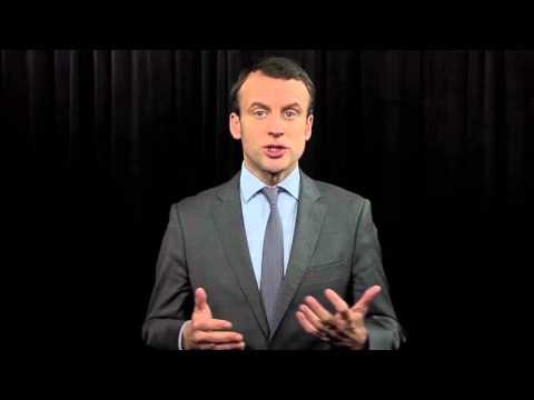 Le ministre Emmanuel Macron soutient les coiffeurs !