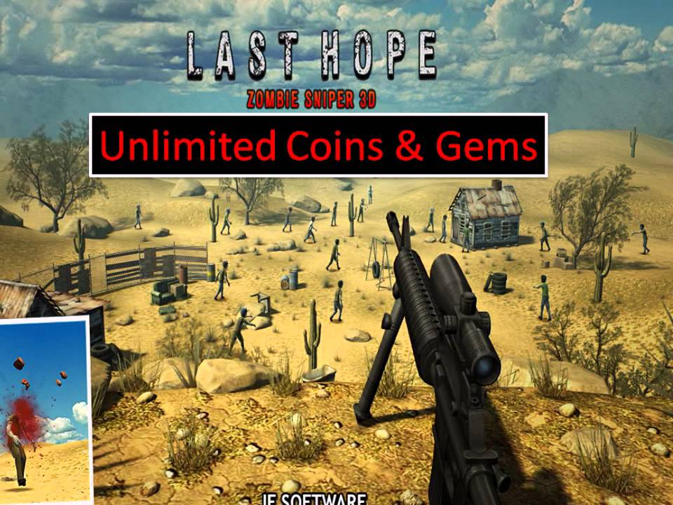 Last Hope-Zombie Sniper 3D Unlimited Coins/Full - YouTube