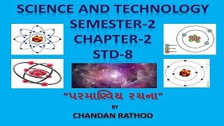 std 8 sem 2 science technology chapter 2 anviya rachana molecular structure
