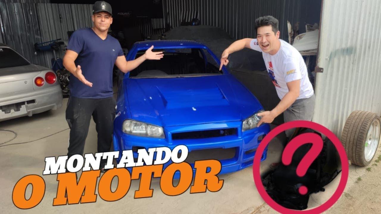 Montando O Motor Do Skyline Do Renato Garcia