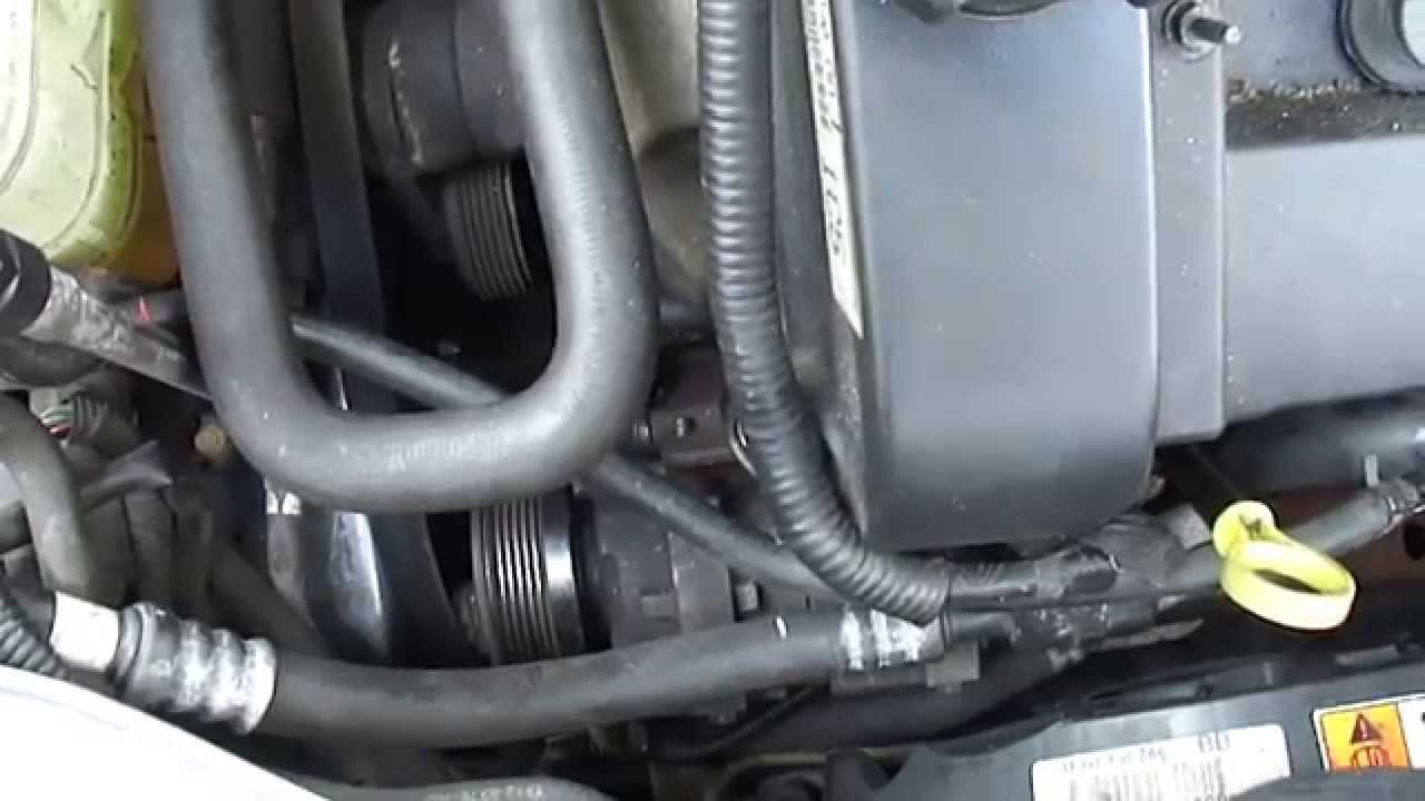 Repair Of Mercury Sable 24 Valve Ac Compressor Part 1