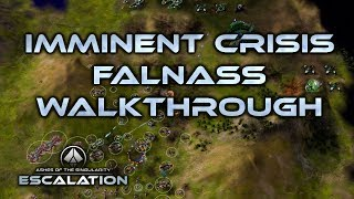 Ashes of the Singularity Escalation Falnass walkthrough Imminent Crisis campaign