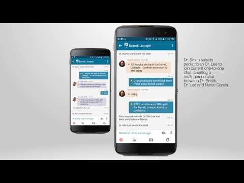 Healthcare Secure Messaging and Collaboration with BlackBerry