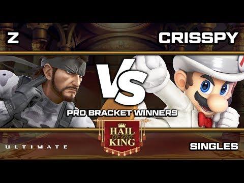 Hail To The King 3: Z (Snake) vs Crisspy (Mario/Inkling) Pro Bracket WR2 thumbnail