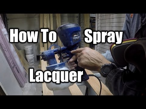 How To Spray Lacquer The Easy Way | THE HANDYMAN |