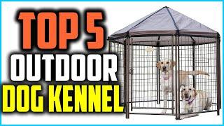 Top 5 Best Outdoor Dog Kennel in 2021