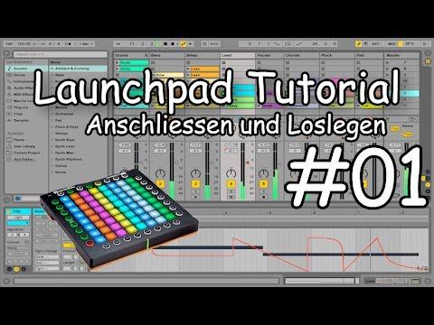 launchpad-für-anfänger-#01 -swiss-launchpad- -launchpad-anschliessen-und-einstellen- 
