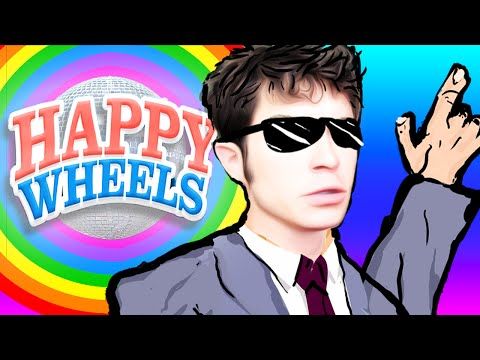 HAPPY WHEELS: Dance Party REMIX (Funny Moments Montage)