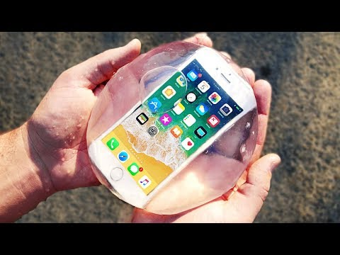 Don't Put Your iPhone 8 in Edible Water Bottle!!