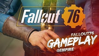 Fallout 76 LIVE! New Power Armor and Base Building! Level 75!