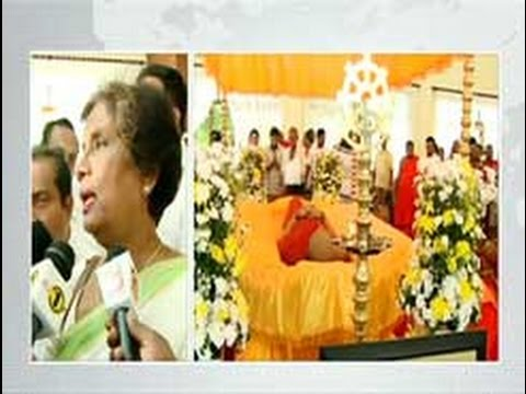 Last rites for Ven. Sobitha Thero