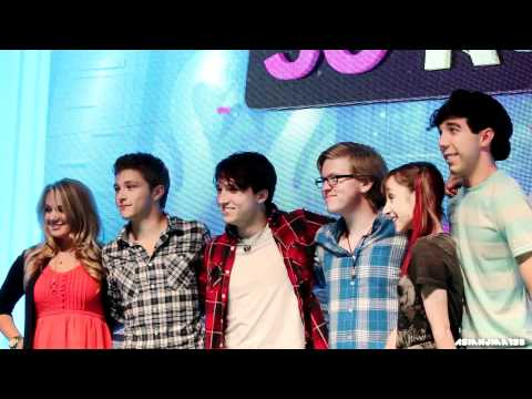Cast of So Random Live and Good Luck Charlie Live - D23 Expo 2011