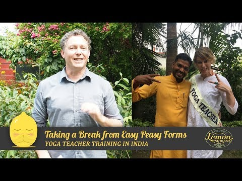 Taking A Break From Work | Experiences From My Yoga Teacher Training Course In India