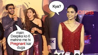 Deepika Finally Reacts On Ranveer Singh's Comment on Making Her PREGNANT In 6 Months Of MARRIAGE