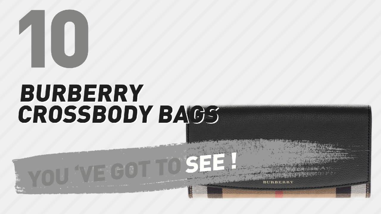 6c97a5090f35 Burberry Crossbody Bags    New   Popular 2017 - YouTube