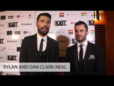 British LGBT Awards 2017  Backstage with Rylan and Dan ClarkNeal