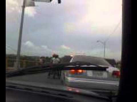 Accidente en el puente de Sabana Perdida