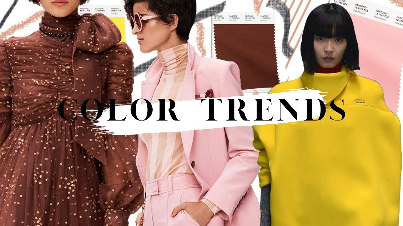 Color Trends - Fall/Winter 2021-22