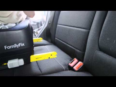 How to fit a forward facing Isofix child car seat - Which? guide